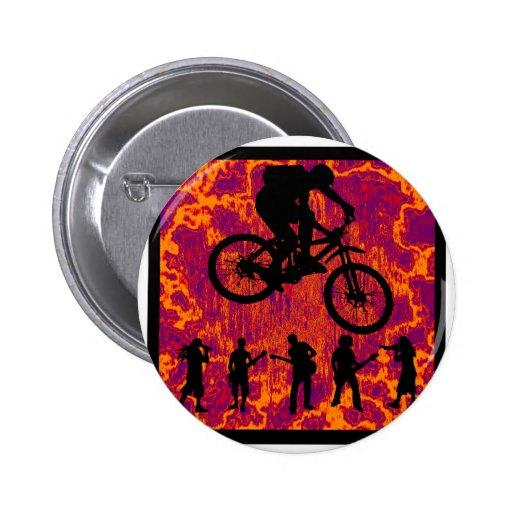 Bike New Possibility Pinback Button