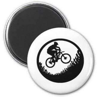 Bike Next Time 6 Cm Round Magnet