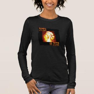 Bike on Fire Long Sleeve T-Shirt