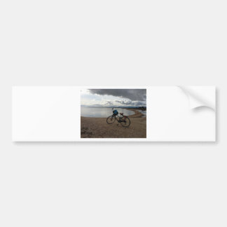 Bike on the Beach Bumper Sticker