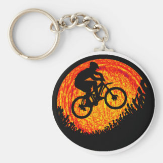 Bike one love key ring
