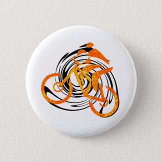bike Orange Crush 6 Cm Round Badge