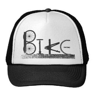 Bike Parts Word Graffiti Urban Design for Cyclists Cap