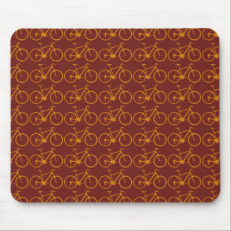 bike pattern for cyclists mouse mat