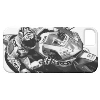 Bike race heroes in action - 'YUKIO TAKAHASHI' mon iPhone 5 Covers