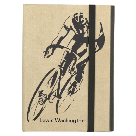 Bike Racing Velodrome Personalised Case For iPad Air