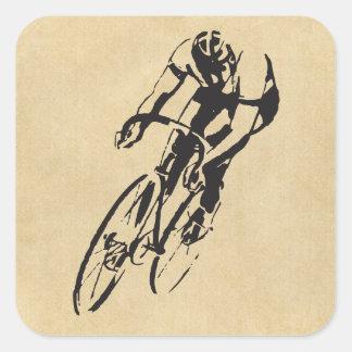 Bike Racing Velodrome Stickers