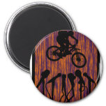 Bike Ready Pedals Refrigerator Magnet