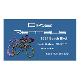 Bike Rentals Pack Of Standard Business Cards
