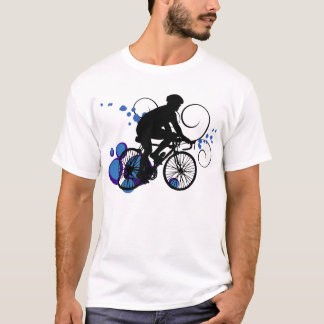 Bike Rider- Blue T-Shirt