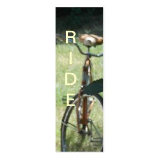 Bike Riders Bookmark Business Card Templates