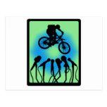 Bike Rock Crawler Postcard