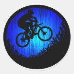 Bike Rock HOP Round Sticker
