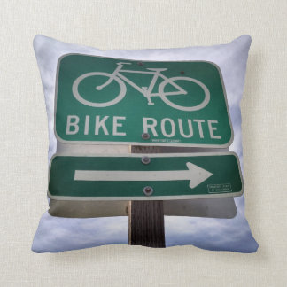 Bike Route Pillow