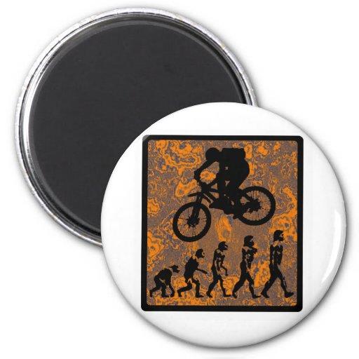 Bike Saguaro Canyons 6 Cm Round Magnet