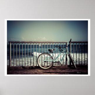 Bike - Santa Cruz Poster