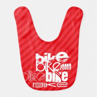 Bike; Scarlet Red Stripes. Bib
