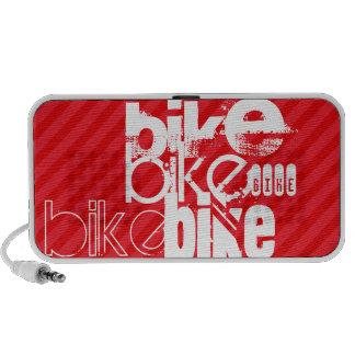 Bike; Scarlet Red Stripes. iPhone Speaker