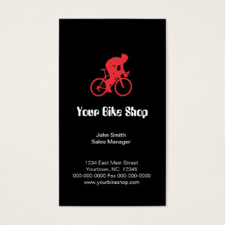 Bike Shop Business Card