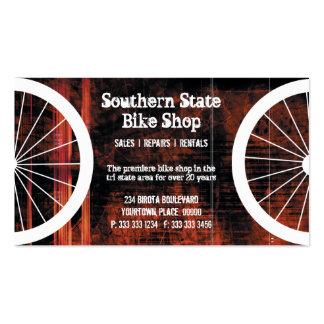 Bike Shop Grunge Business Card