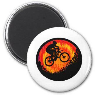 Bike Souls Notice 6 Cm Round Magnet