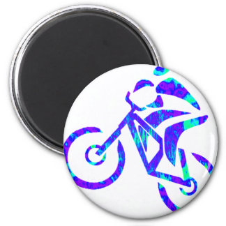 Bike Star Gazer 6 Cm Round Magnet