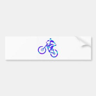 Bike Star Gazer Bumper Sticker
