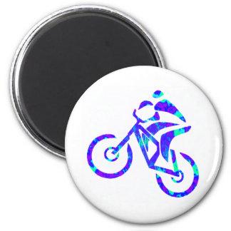 Bike Star Gazer Fridge Magnet