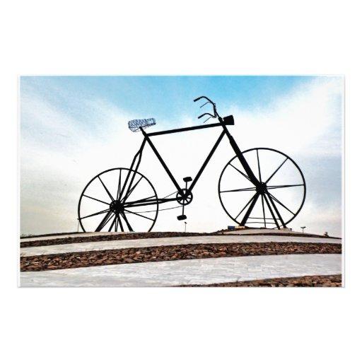 bike stationery paper