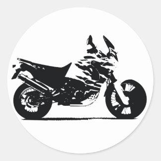 Bike Round Sticker