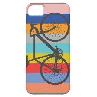 Bike Striped Multi-Color Rainbow iPhone 5/5S Case