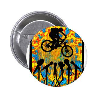 Bike Super Sonic 6 Cm Round Badge