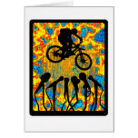 Bike Super Sonic Greeting Card