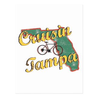 Bike Tampa Bicycle Florida Postcard