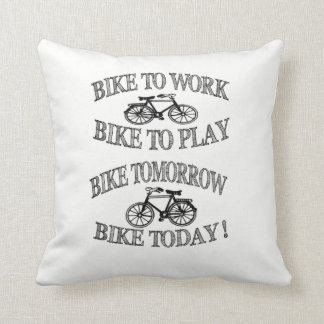 BIKE TO CUSHION