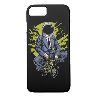Bike To The Moon Glossy Phone Case