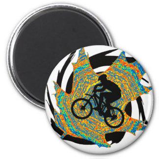 Bike Upper Ontario 6 Cm Round Magnet
