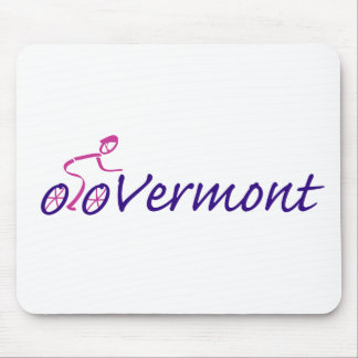 Bike Vermont Mouse Pads
