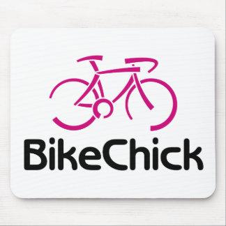 BikeChick Logo (new) Mouse Pad