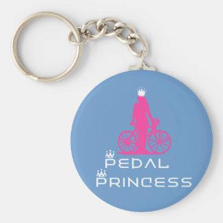 BikeChick Pedal Princess Key Ring