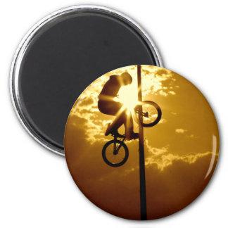 Bikensun 6 Cm Round Magnet