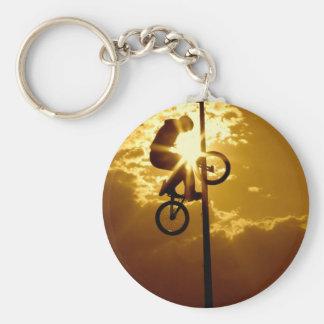 Bikensun Basic Round Button Key Ring