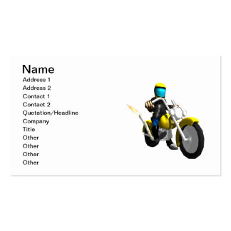 Biker 2 business card templates