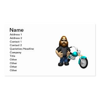 Biker 5 business cards