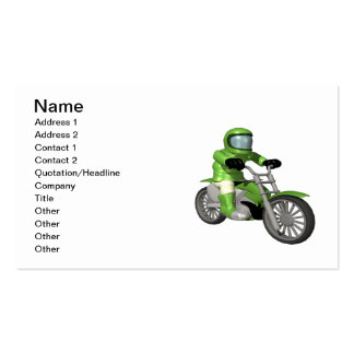 Biker 8 business cards
