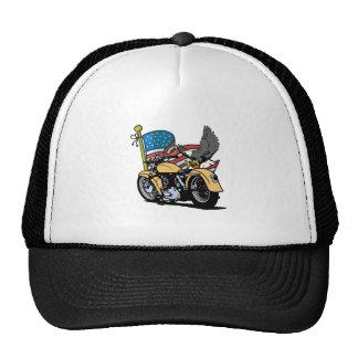 Biker American Eagle Trucker Hat