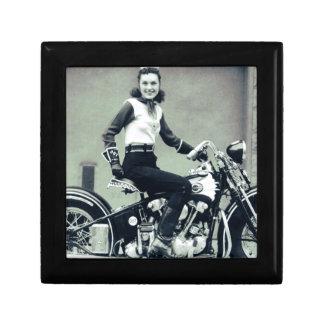Biker Babe Keepsake Box