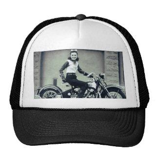 Biker Babe Mesh Hats