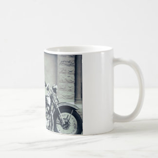 Biker Babe Classic White Coffee Mug