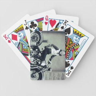 Biker Babe Poker Cards